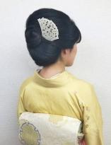 シンプル和髪スタイル