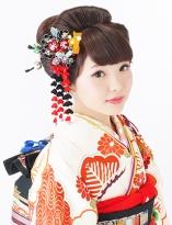 日本髪風アップスタイル【日本髪¥5000(税抜)】