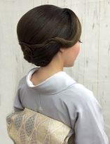 シルエットが綺麗★上品な着物ヘア【和髪¥4000(税抜)】