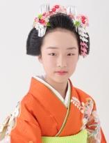 正統派スタイル☆日本髪風【日本髪¥5000(税抜)】