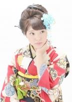 ルーズさが可愛い新日本髪【日本髪¥5000(税抜)】