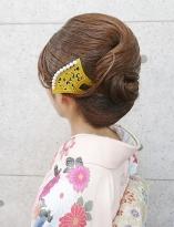 抱き合わせの綺麗なヘアアレンジ【和髪¥4000(税抜)】