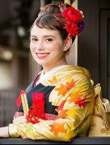 女優風カールアップ