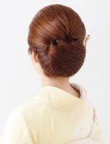 和髪でオールバックにしたクラシックヘア【和髪¥4000(税抜)】