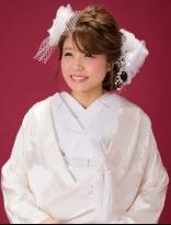 おしゃれ花嫁さんのサイドボリュームスタイル