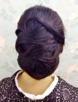 艶やかな和髪ヘア