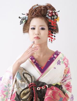クール に 着物 in 京都
