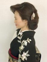 華やかな和髪スタイル
