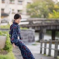メンズ浴衣福袋 七宝-紺
