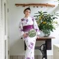 白×紫 撫子