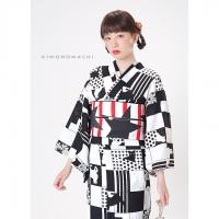 P1723 黒×白 猫¥12,500