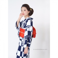P1724 青×白 猫¥12,500