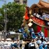 祇園祭 山鉾巡行の辻回し