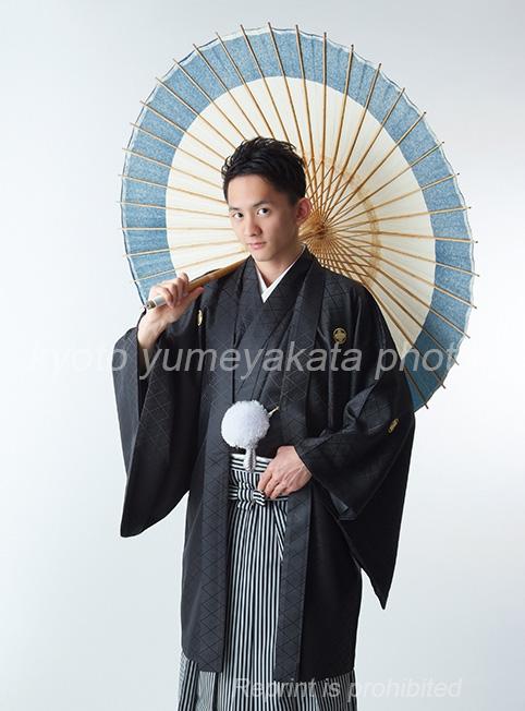 紋付袴スタジオフォト07